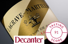 Lagrave-Martillac Rouge, dans le top 30 Decanter